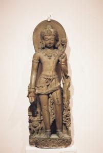 観音菩薩像 インド、ヴィハーラ州ナーランダ 9世紀