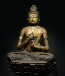 大日如来(平安時代、東京国立博物館)